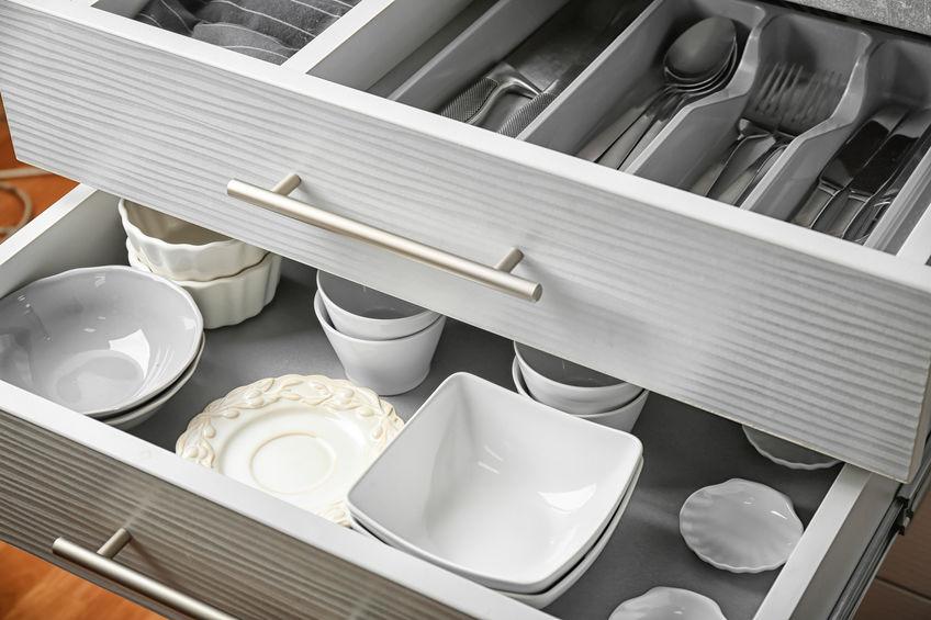 cutlery storage drawers