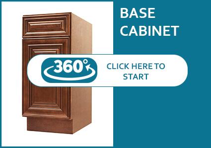 Charleston Cappuccino Base Cabinet