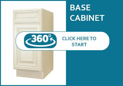 Charleston Cream Base Cabinet
