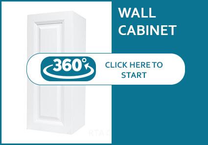 Hudson White Single Door Wall Cabinet