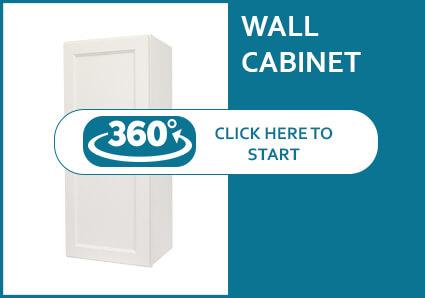 Hanover Dove Single Door Wall Cabinet