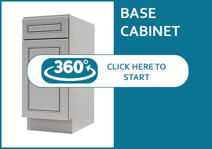 Lenox Grey Base Cabinet