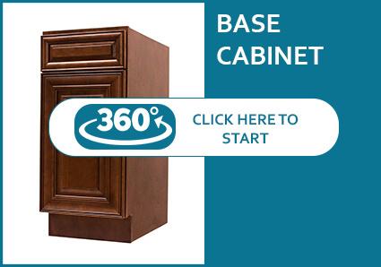 Jackson Chocolate Glaze Base Cabinet