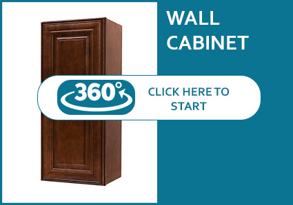 Jackson Chocolate Glaze Wall Cabinet