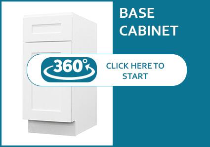Classic White Shaker Base Cabinet