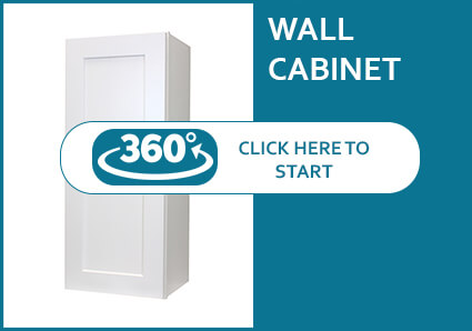 Classic White Shaker Wall Cabinet