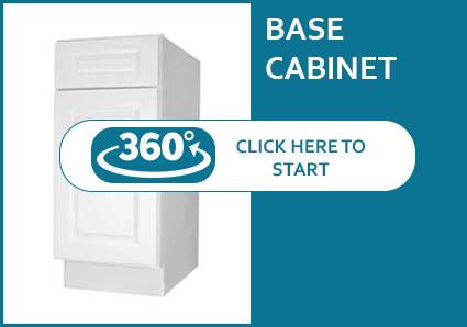 Newtown White Base Cabinet