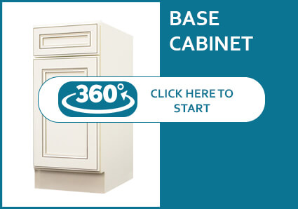 Antique White Base Cabinet