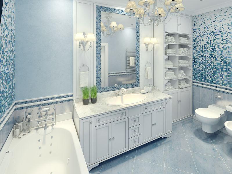 blue_bathroom_cabinets