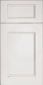 Malibu Blanc Front Door