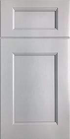 Malibu Nickel Front Door
