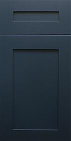 Madison Blue Shaker Front Door