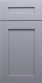 Madison Grey Shaker Front Door