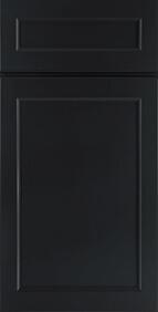 Hanover Charcoal Front Door