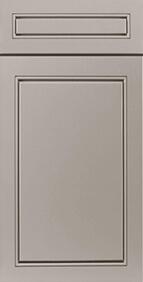Lenox Grey Front Door