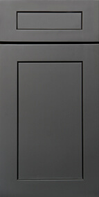 Salem Grey Shaker Front Door
